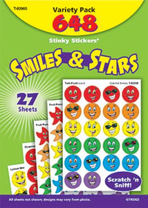 Stinky Stickers?« Variety Pack - Smiles & Stars