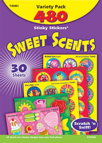 Stinky Stickers?« Variety Pack - Sweet Scents