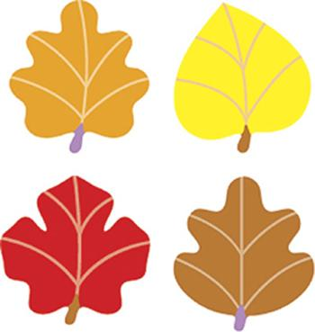 SuperShapes Stickers - Autumn Leaves