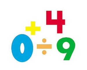 SuperShapes Stickers - Numbers