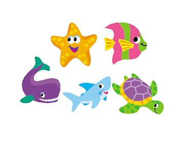 SuperShapes Stickers - Sea Life