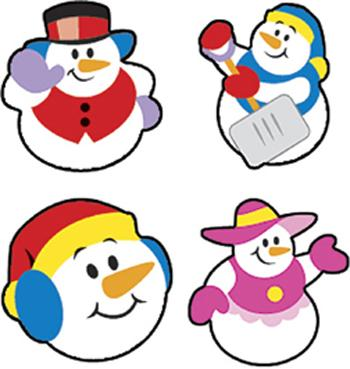 SuperShapes Stickers - Super Snow Friends