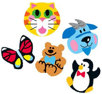 SuperShapes Stickers Variety Pack - Animals