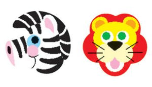 SuperShapes Stickers - Zoo Animals