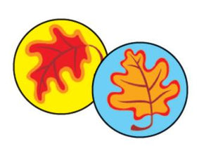 SuperSpots?« Stickers - Fall Leaves