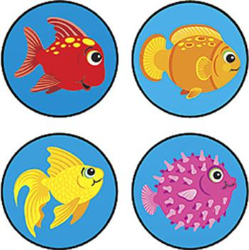 SuperSpots?« Stickers - Fun Fish