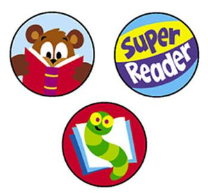 SuperSpots?« Stickers - Reading Celebration