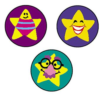 SuperSpots?« Stickers - Silly Stars