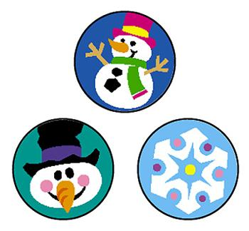 SuperSpots?« Stickers - Winter Joys