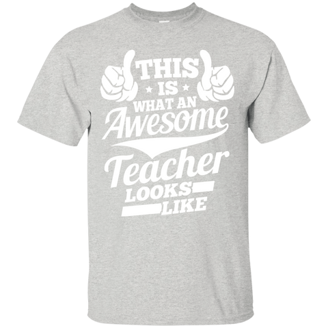 T-Shirts - Awesome Teacher Ultra Cotton T-Shirt