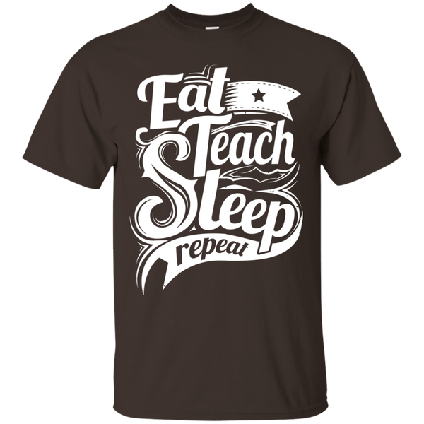 T-Shirts - Teach Repeat Ultra Cotton T-Shirt