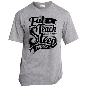 T-Shirts - Teach Repeat USA100 Unisex
