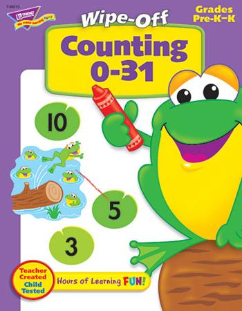 Wipe-Off?« Book - Counting 0-31