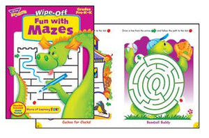 Wipe-Off?« Book - Fun With Mazes