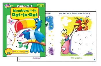 Wipe-Off?« Book - Numbers 1-31 Dot-to-Dot