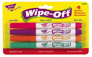 Wipe-Off?« Markers - 4-Pack Bright Colors
