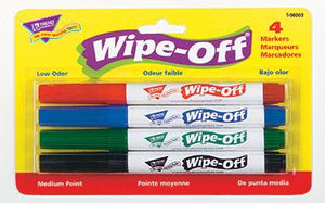 Wipe-Off?« Markers - 4-Pack Standard Colors