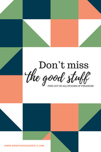 Don't miss 'the good stuff'