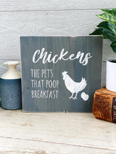 Chickens the pets that poop breakfast