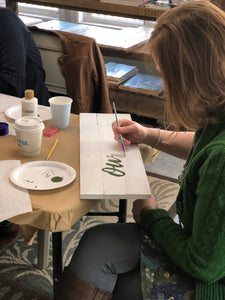 Sign Workshop - March 5