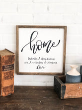 Home A story of who we are. A collection of things we love