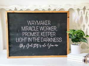 Waymaker, miracle worker