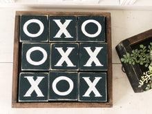 Tic tac toe block set
