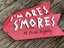 S'mores at dust nightly