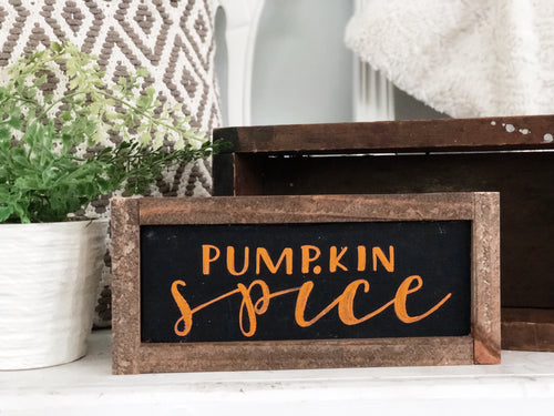 Pumpkin Spice MINI