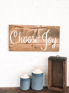 Choose Joy - Large