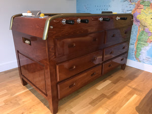 Bonzini 'Babyfoot' 12 Grand Tiroirs (Cherry finish, 12 drawers)