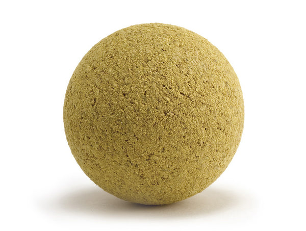 Heavyweight yellow cork balls 17g x 15 pack