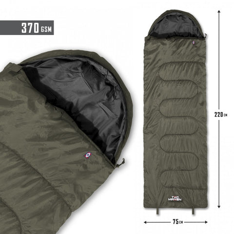 Major Sleeping Bag 370gr/M²
