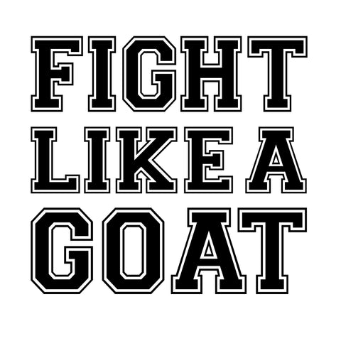Fight Like a Goat