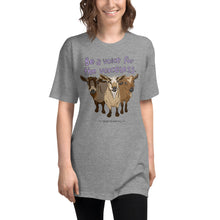Voiceless - American Apparel Unisex Tri-Blend Track Shirt