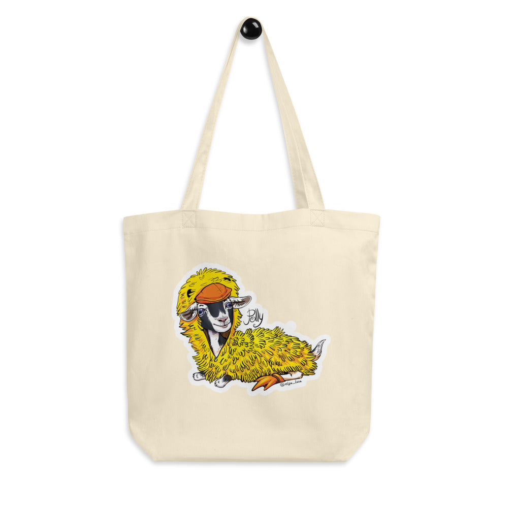 Polly's Duck Costume Eco Tote Bag