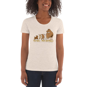 Maybel Alternate - American Apparel Women's Tri-Blend Crew Neck T-shirt