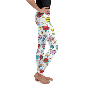 Super Goat Youth Leggings