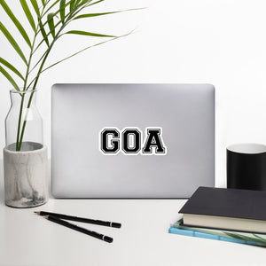 GOA - Bubble-free stickers