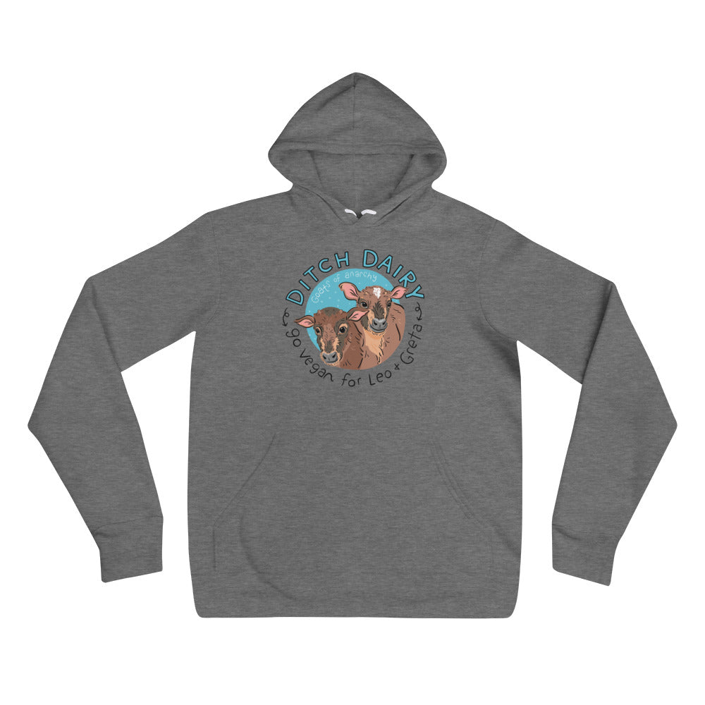 Ditch Dairy - Bella + Canvas 3719 Unisex hoodie