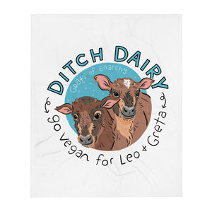 Ditch Dairy - Throw Blanket
