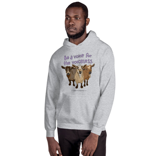 Voiceless - Gildan Heavy Blend Hooded Sweatshirt
