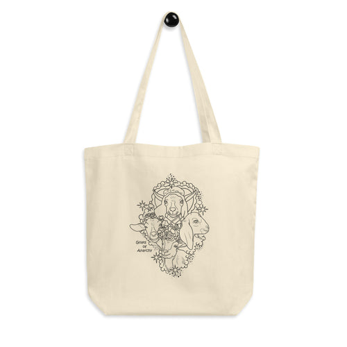 Goat Friends Eco Tote Bag