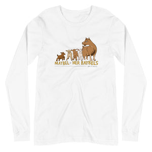 Maybel Alternate - Bella + Canvas Unisex Long Sleeve Tee
