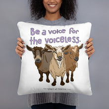 Voiceless Pillow
