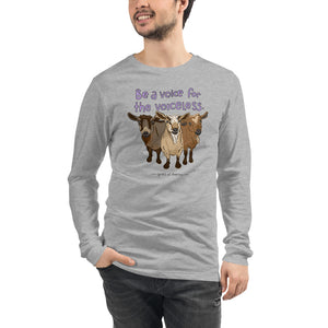 Voiceless - Bella+ Canvas Unisex Long Sleeve Tee