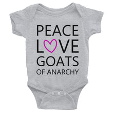 Peace Love Goats_Pink Onesie