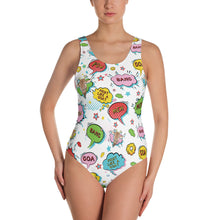 Super Goat - One-Piece Swimsuit