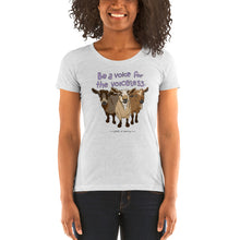 Voiceless - Bella + Canvas Ladies' Tri-blend short sleeve t-shirt