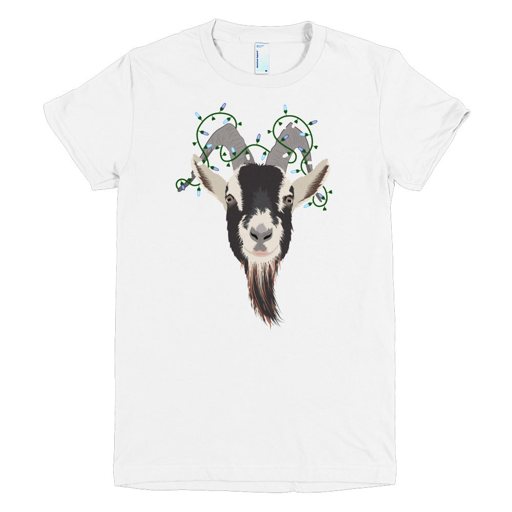 Hanukkah Lights - American Apparel Fine Jersey Short sleeve women's t-shirt